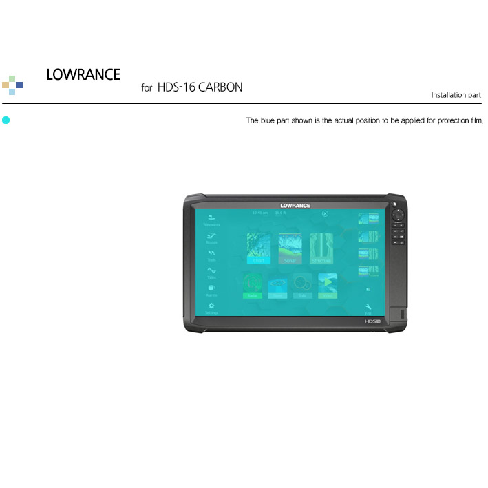 Details about For LOWRANCE HDS 16 CARBON Anti Glare Matte LCD Screen  Protector Outdoor Film