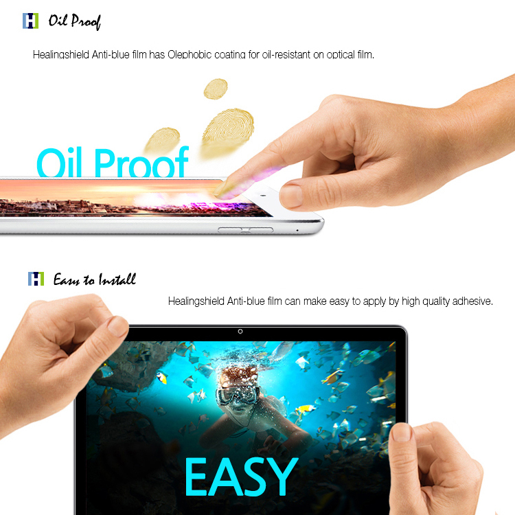 Anti Blue Eye Protection Screen Protector Clear Film Galaxy Book